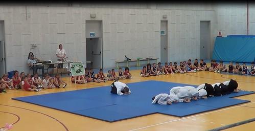 Alla festa del mini-basket di Noceto - Giugno 2013