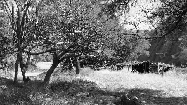 Mexico Rural - la Cañada en Negro & Blanco ::