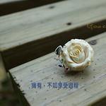 Grace Chen 玫瑰 象牙戒指