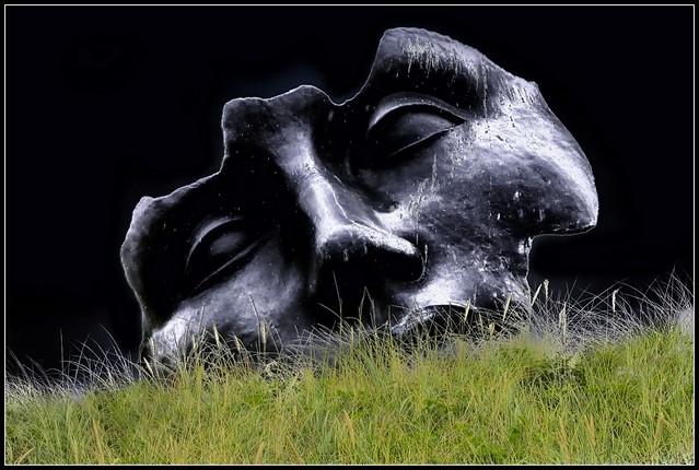 Sculpture in the dunes