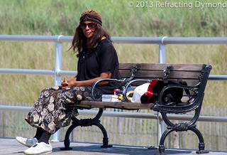 Woman in Atlantic City | by refractingdymond