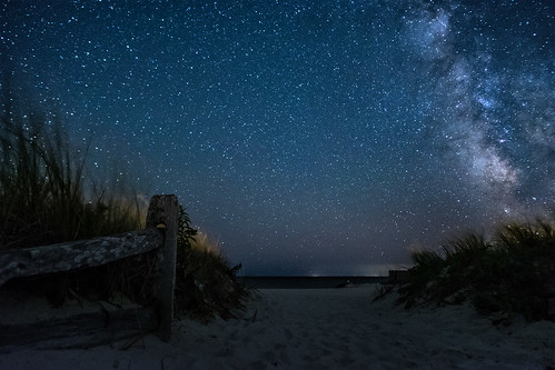 night sky stars milky way beach access sand astrophotography fuji fujifilm xt10 samyang 12mm f2 landscape summer harwich ma usa 2016 cape cod atlantic ocean