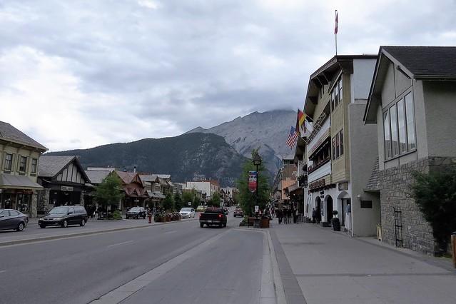 Cloudy in Banff