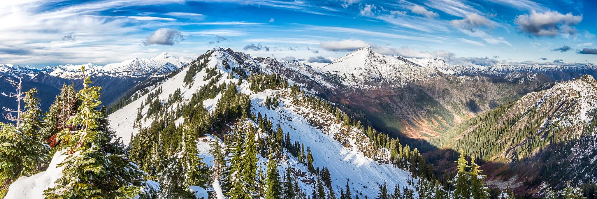 Wenatchee (Poet) Ridge lineup