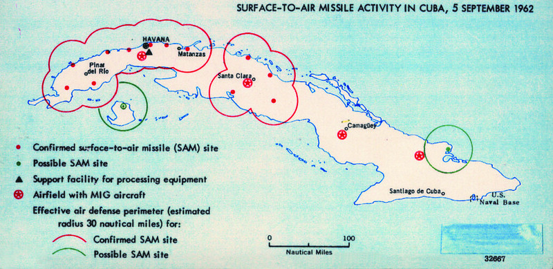 1962 Cuba Missiles