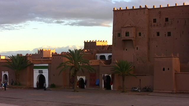 Marokko , Quarzazate, KasbahTaourirt , 9-4/2591