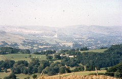 View of the Hope Valley & Hope Cement Works, Peak District National Park, c. 1998.
