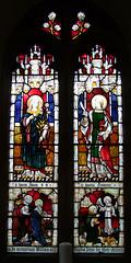 Blessed Virgin and St John