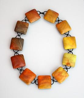 Necklace Tones of Earth II
