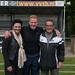 Top KNVB scheidsrechter Kevin Blom beloont VVSB met KNVB-ARAG-FairPlay certificering.