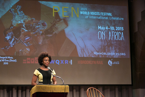 Chimamanda Ngozi Adichie © Beowulf Sheehan/PEN American Center | by PEN America