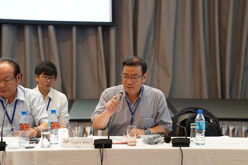 圖06IndustriALL-JAF秘書長Yoshio Sato簡報「日本城市瓦斯發展現況」