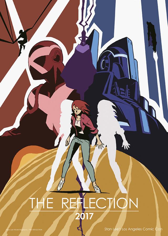 161031 - 美日「Stan Lee×長濵博史」合作2017年超級英雄動畫《THE REFLECTION》公開海報&預告片!