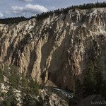 Grand Canyon of the Yellowstone from the North Rim Trail