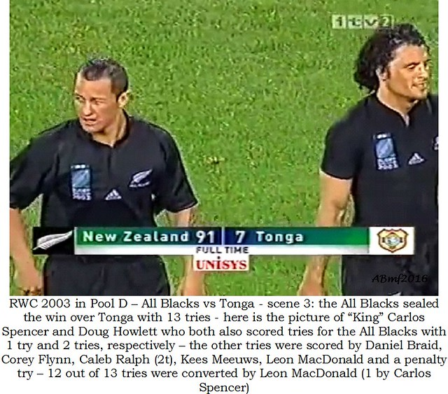 Rugby World Cup 2003 & 2007 – All Blacks | New Zealand … My