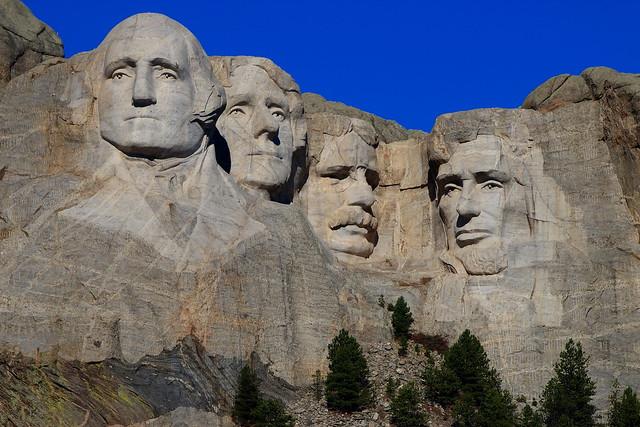 Mount Rushmore Memorial, SD