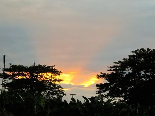 santa ana pampanga sunset luzon philippines asia world