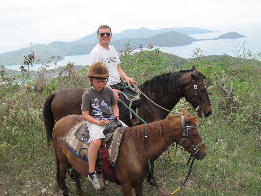 Carolina Corral Horseback Ride, St. John, US Virgin Island… | Flickr