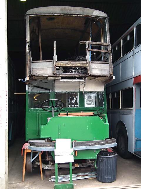 Nottingham 367 - 1934 Karrier E6 Brush TV9333 with restoration progessing ^
