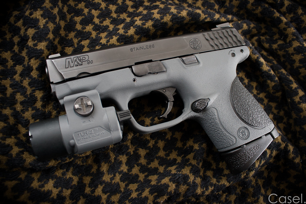 Duracoat'd S&W M&P9c | Latest duracoat job I just finished  … | Flickr