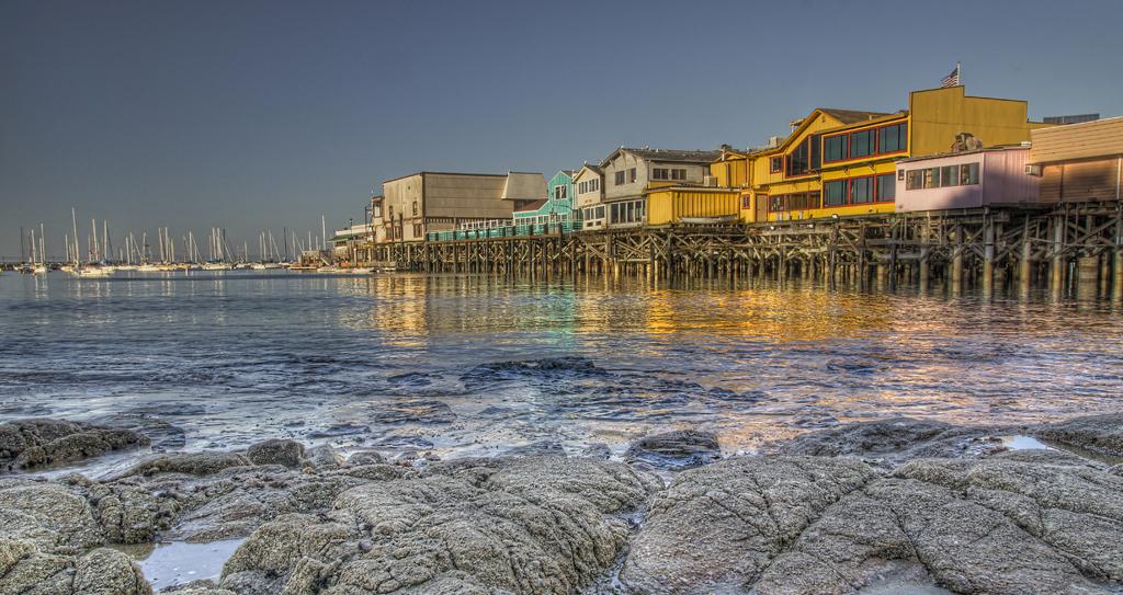 Old Fisherman's Wharf in Monterey, CA
