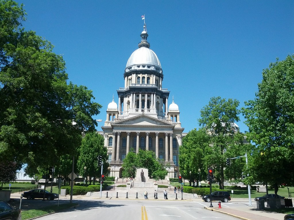 Image result for illinois state capitol