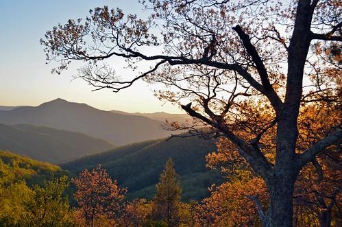 sunset landscape nc northcarolina blueridgeparkway mtpisgah wnc pisgahnationalforest westernnorthcarolina brpw