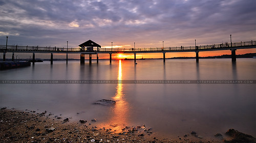 Changi Boardwalk Sunset | by st_tuper33