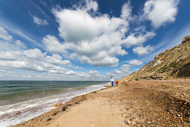 Exploring West Wight Beaches - Alum Bay - IMG_2990