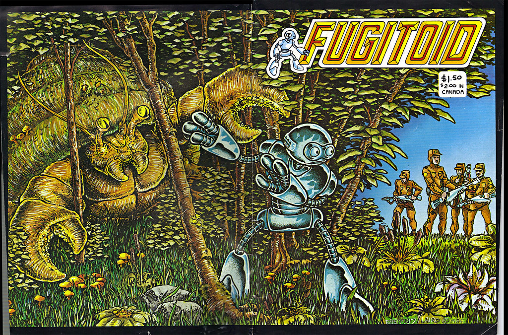 "The Original ""FUGITOID #1"" i // .. entire wrap-around cover by Eastman and Laird   (( 1985 )) by tOkKa"