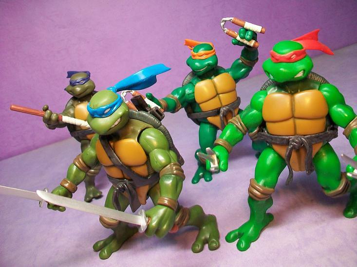 Tmnt 2003 Figures Teenage Mutant Ninja Turtles Toy Hggtw Flickr