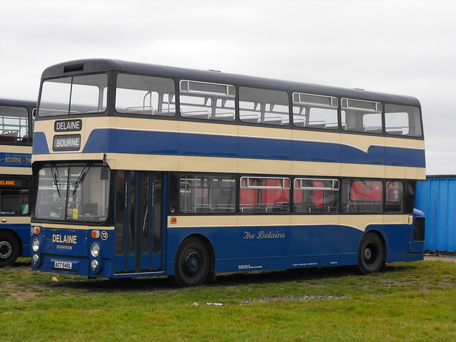 72, ACT 540L, Leyland Atlantean, Northern Counties Body, 1972 (t.2013)