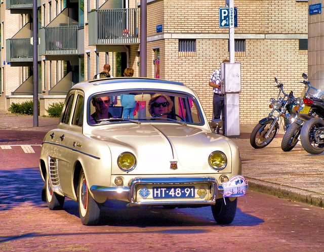 1962 Renault Dauphine R1090 Ondine,  Midland Classic Show - Almere