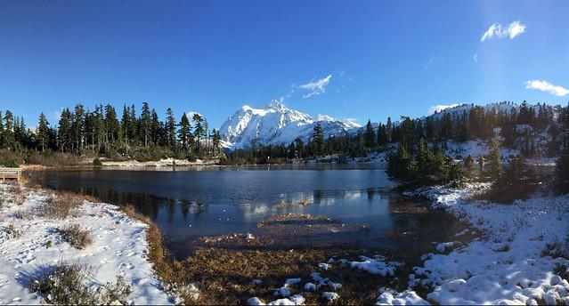 Mt Shuksan reflections,WA. 11/11/2014