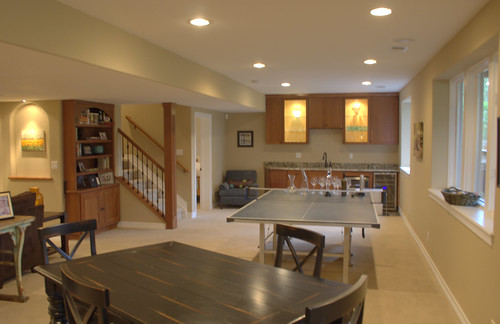 home remodel bar | by Finished Basements by Brothers