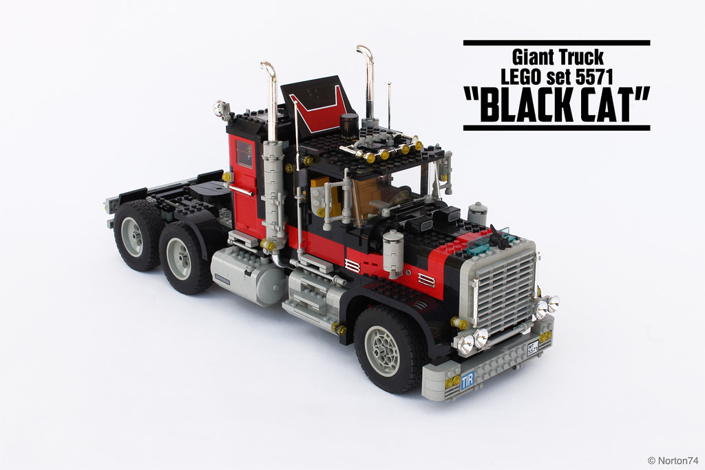 Black Cat Model Team Set 5571 Black Cat Is The Most Ic Flickr