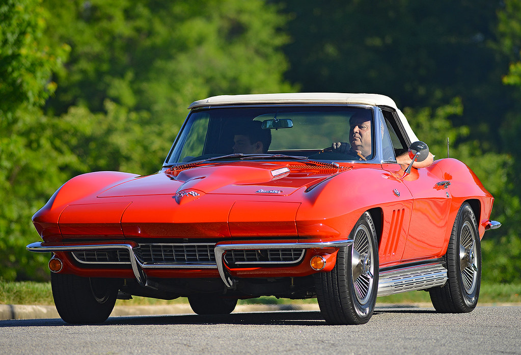 A 1966 Corvette at Cars & Coffee of the Upstate SC | Flickr