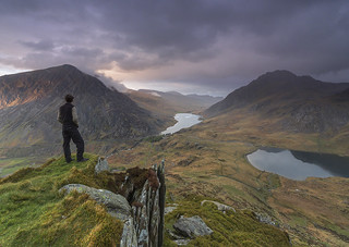 'View of the Valley' - Ogwen Valley, Snowdonia   by Kristofer Williams