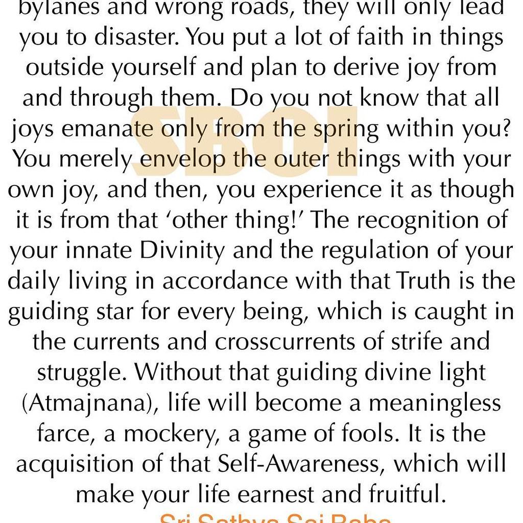 SathyaSaiBaba #Quotes #spiritual #God #SathyaSai   Sathya Sai Baba