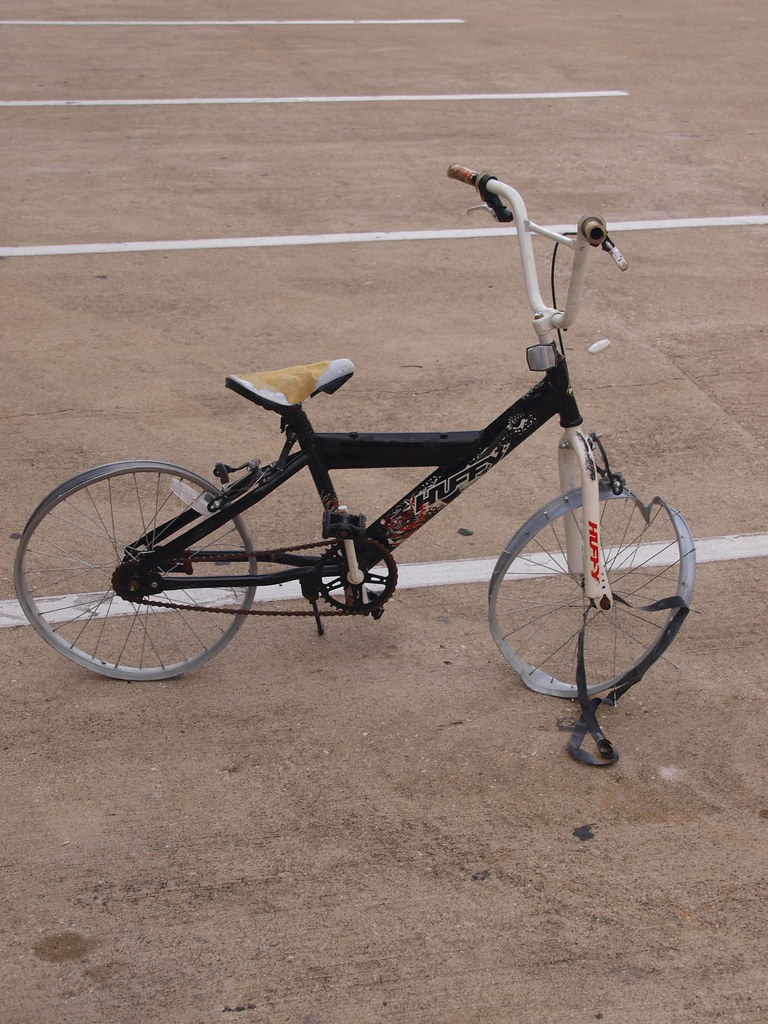 Houston Texas This is what I do to shitty BMX bikes from w