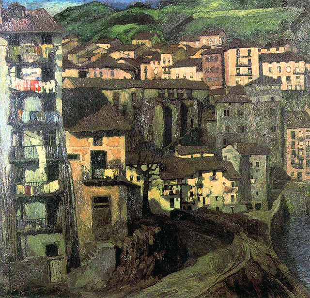 Zuloaga, Ignacio  (Spanish, 1870-1945) - Motrico  - s.d..