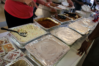 The lunch buffet provided by Sonny's Real Pit Bar-B-Q at Guardian ad Litem Appreciation Day on May 12, 2012 in Tallahassee, Florida. | by flguardian2