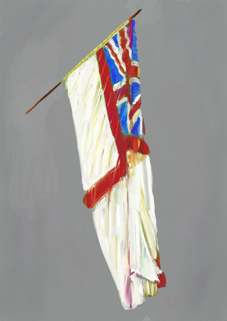 The White Ensign of HMS Birmingham