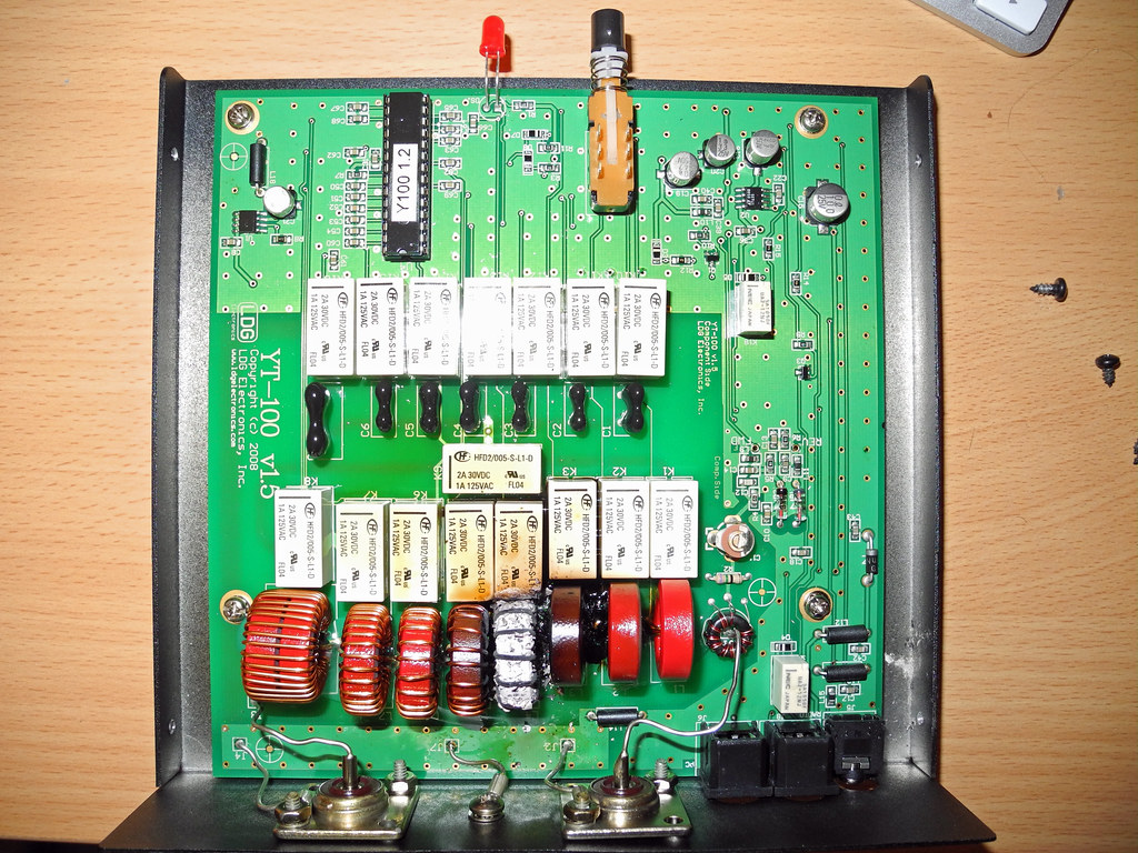 LDG Electronics YT-100 Failure | MY Tuner when phut today on… | Flickr