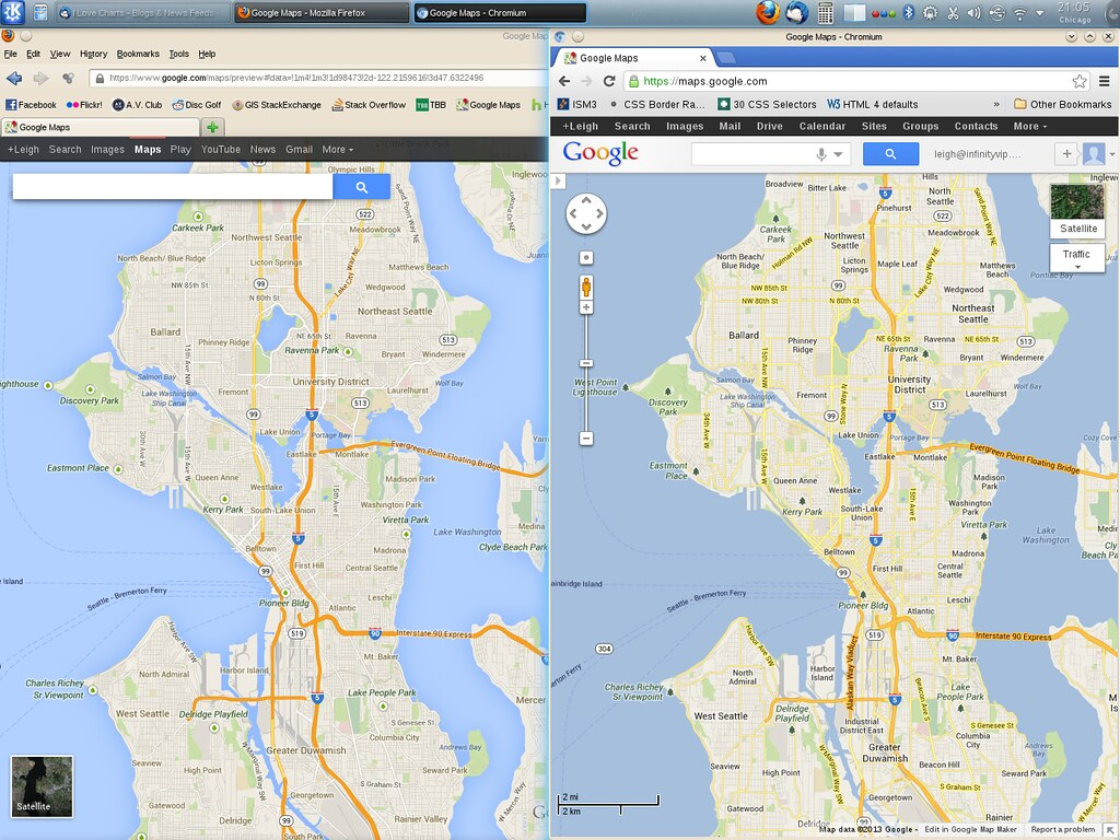 Google Maps - side by side | If you haven\'t heard, Google is ...