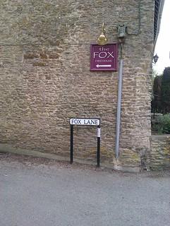 FoxLaneSouldern_April2013 Fox Lane, Souldern