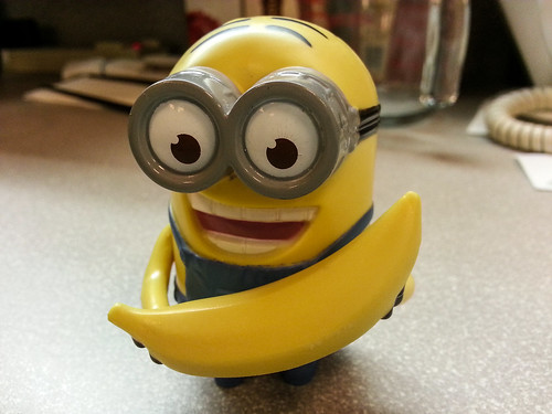 Minion Dave With Banana | by pchow98