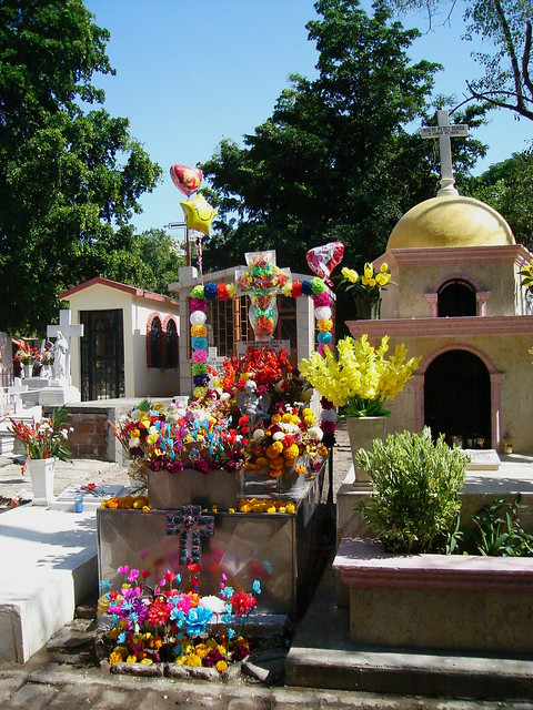 Mexican graves