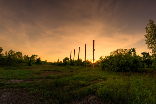 sunset sky orange sun mill abandoned outside outdoors birmingham nikon steel 14 alabama handheld ensley 24mm d610
