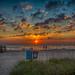 Vilano Beach Sunrise by Bill Varney